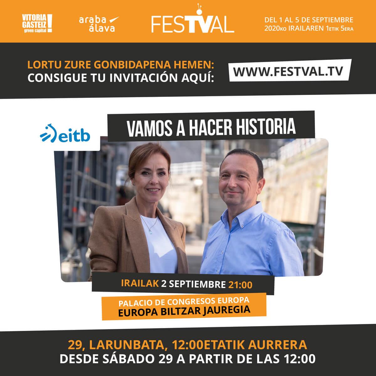 estreno Vamos a hacer historia FesTVal 2020